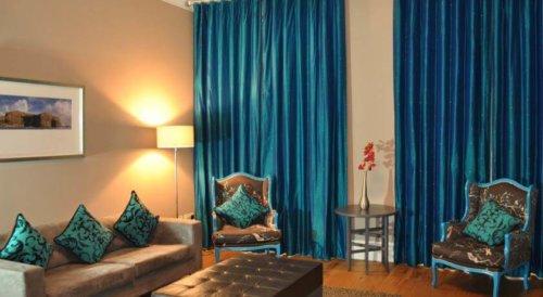 West End Apartments Glasgow Living Area