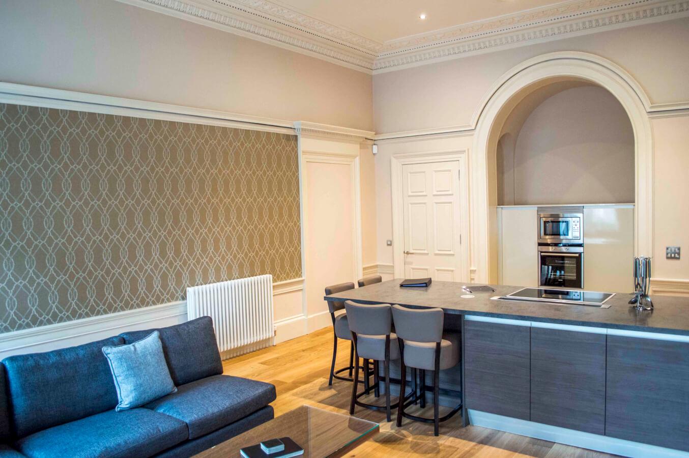Blythswood Apartments Glasgow Living Area - Dreamhouse ...