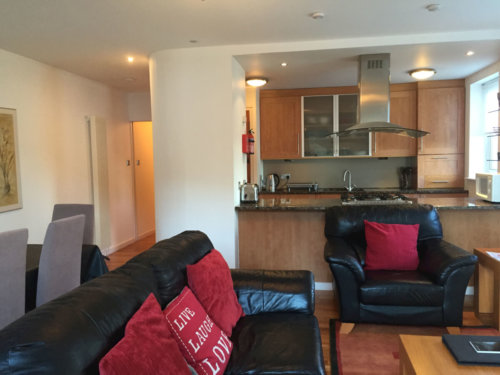 Holyrood Serviced Apartments Edinburgh Living Room