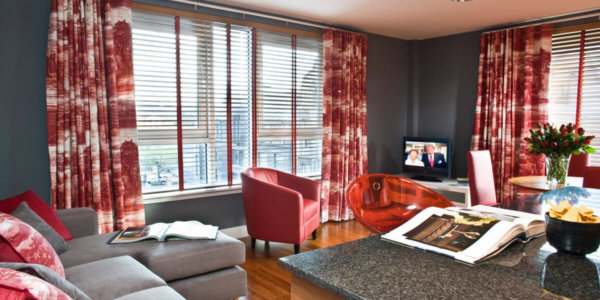 Glasgow City Centre Serviced Apartments Lounge