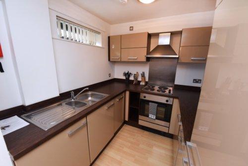 City Centre Apartment Kitchen