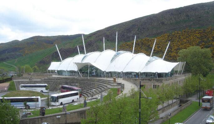 Edinburgh Holyrood View