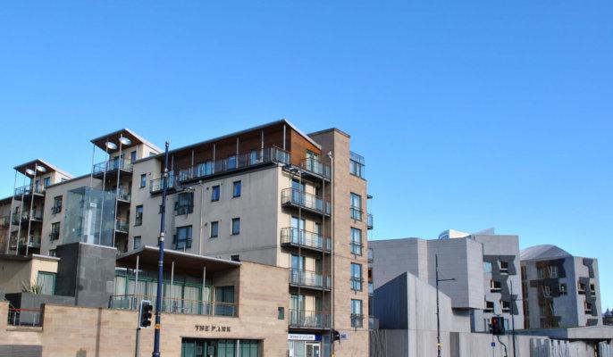 Edinburgh Holyrood Exterior