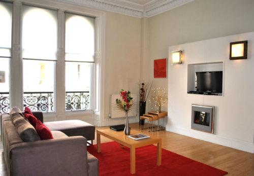 Edinburgh West End Living Room
