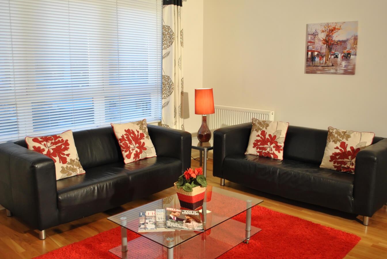 Edinburgh West Tollcross Living Room