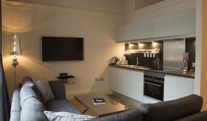 Glasgow Blythswood Standard Living Area