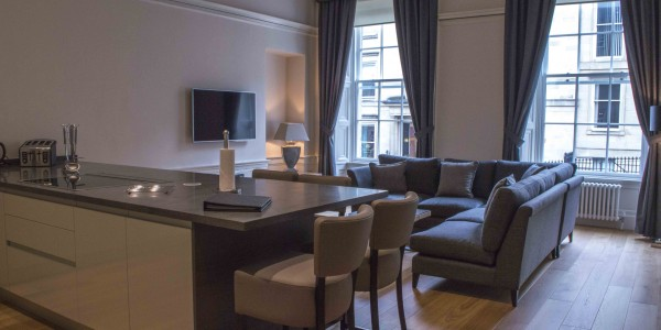 Glasgow Blythswood Living Room
