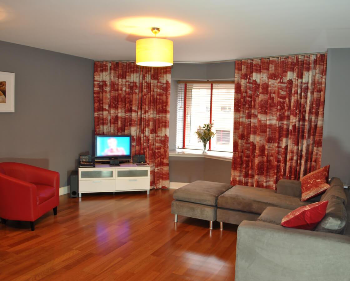 Glasgow City Centre Living Room
