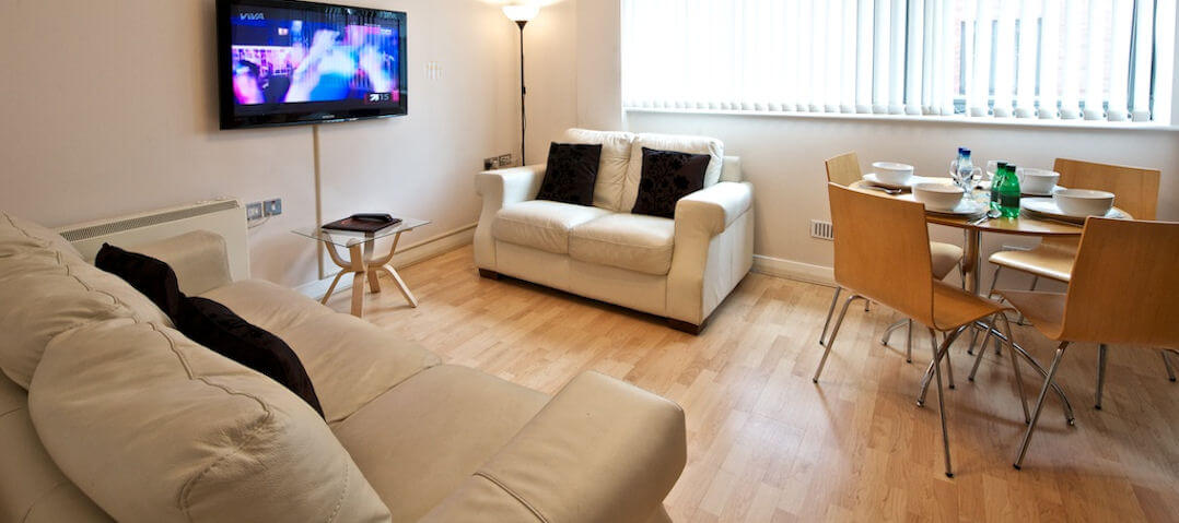Manchester City Centre Living Room