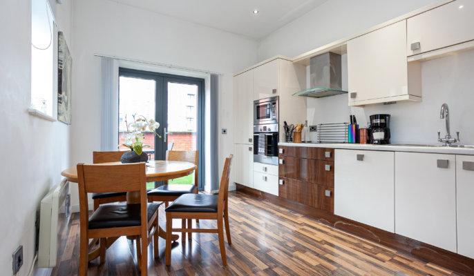 City West Apartment Kitchen