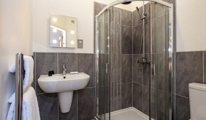 City West Apartment Bathroom
