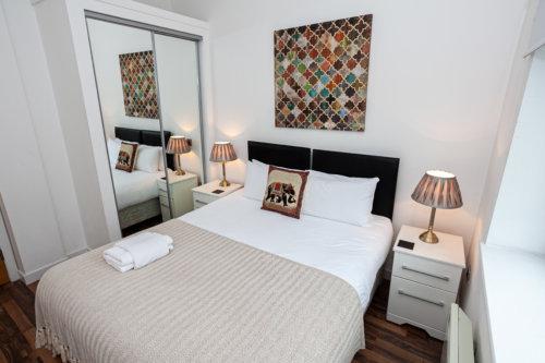 City West Apartment Bedroom