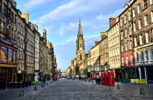 The Royal Mile Edinburgh