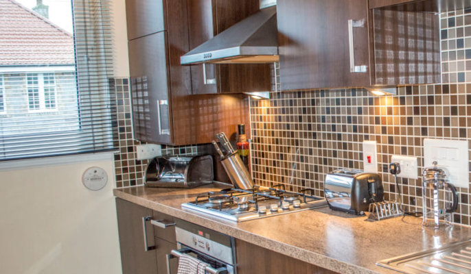 City North Serviced Apartments Kitchen