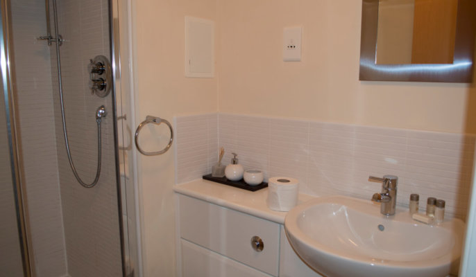 City North Serviced Apartments Bathroom