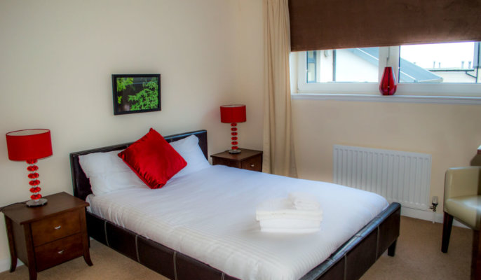 City North Serviced Apartments Bedroom