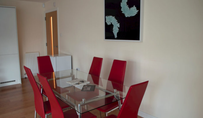City North Serviced Apartments Dining Area