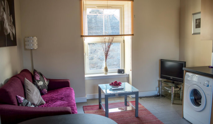 Great Northern Road Serviced Apartments Living Area