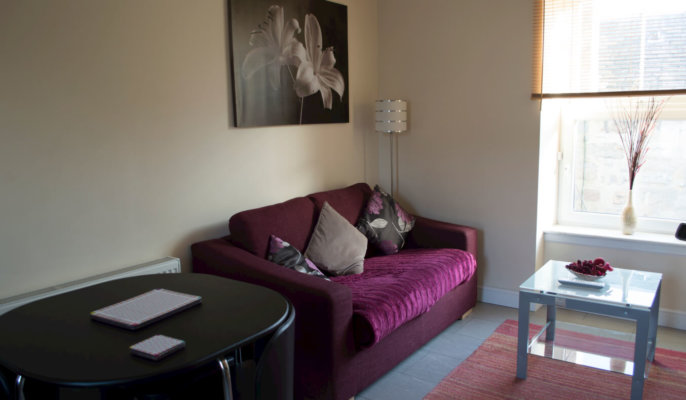 Great Northern Road Serviced Apartments Living Room