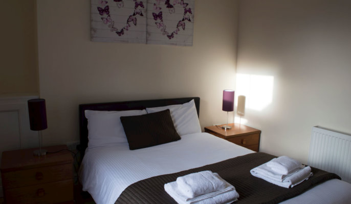Great Northern Road Serviced Apartments Bedroom