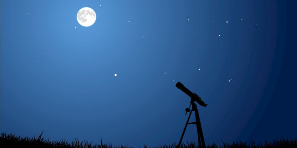 Moon and stargazing
