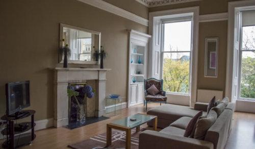 Glasgow Lynedoch Living Area