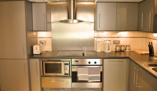 Serviced Apartments London Vauxhall Kitchen