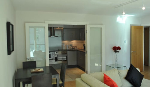 Serviced Apartments London Vauxhall Living Area