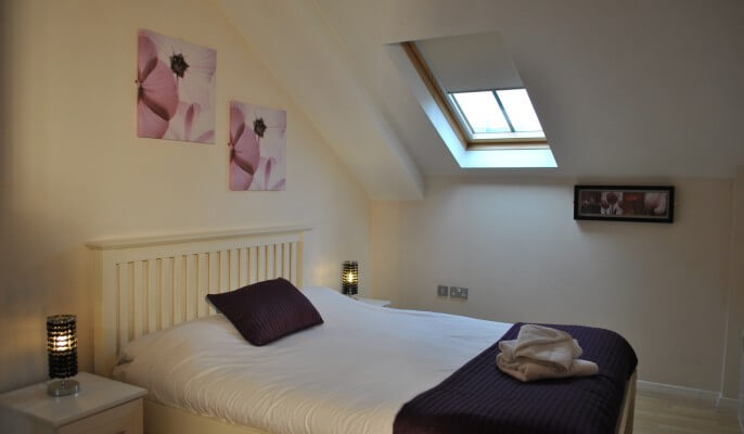 Serviced Apartments Manchester Deansgate Bedroom