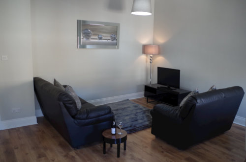 Saint Vincent Street Apartments Glasgow Living Area