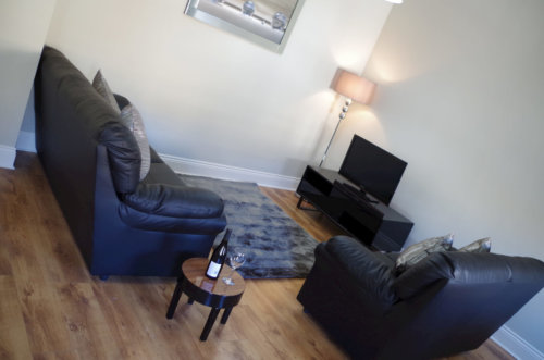 Saint Vincent Street Apartments Glasgow Living Area 2