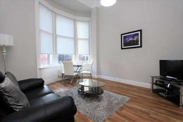 St Vincent Street Glasgow Livingroom