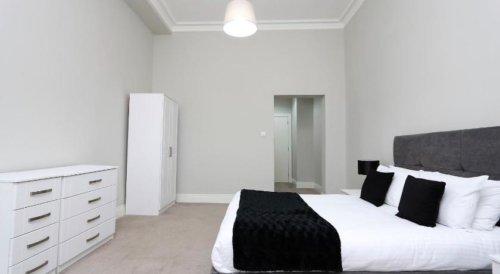 St Vincent Street, glasgow Bedroom