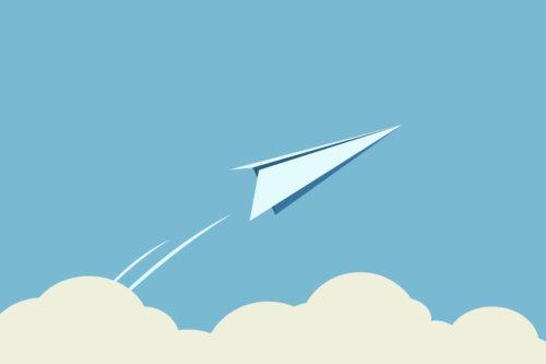 Graphic Paper Plane