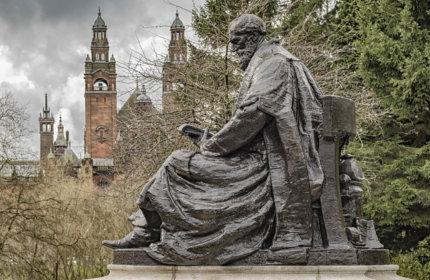 Lord Kelvin in Kelvingrove Park