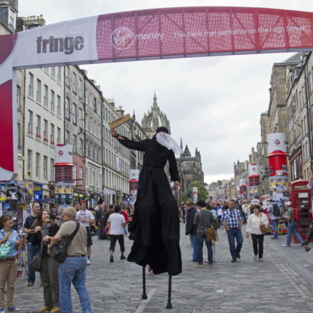 Get festive this summer at the 70th Edinburgh Fringe