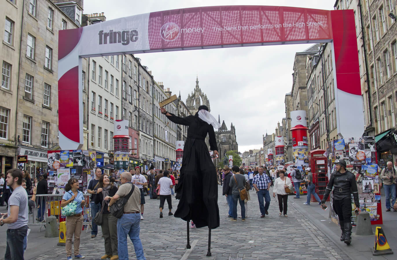 Get festive this summer at the 70th Edinburgh Fringe