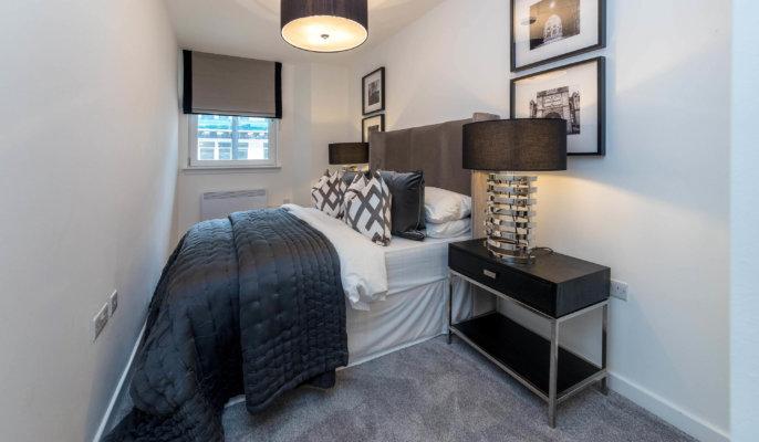 Glasgow Candleriggs Bedroom